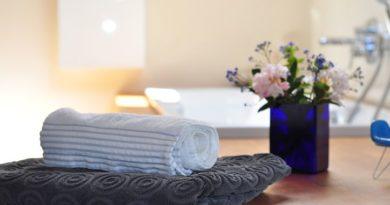 Koupelnový textil nejsou pouze osušky a ručníky